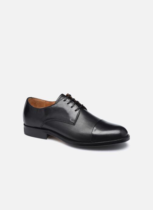 Chaussures à lacets Marvin&Co Newbury Noir vue détail/paire