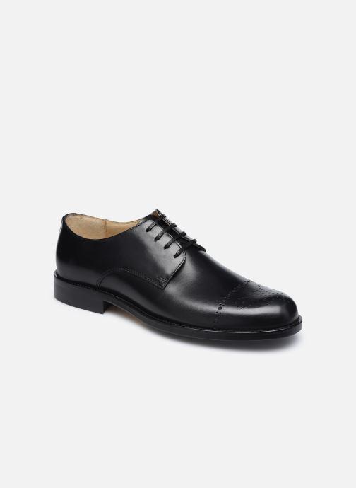 Chaussures à lacets Marvin&Co Niceto Noir vue détail/paire