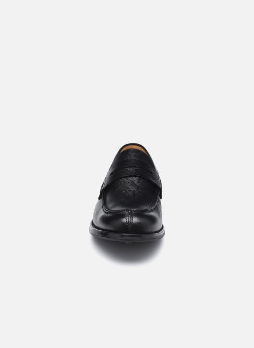 Mocasines Marvin&Co Newera Negro vista del modelo