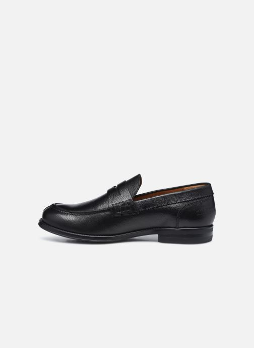 Mocasines Marvin&Co Newera Negro vista de frente