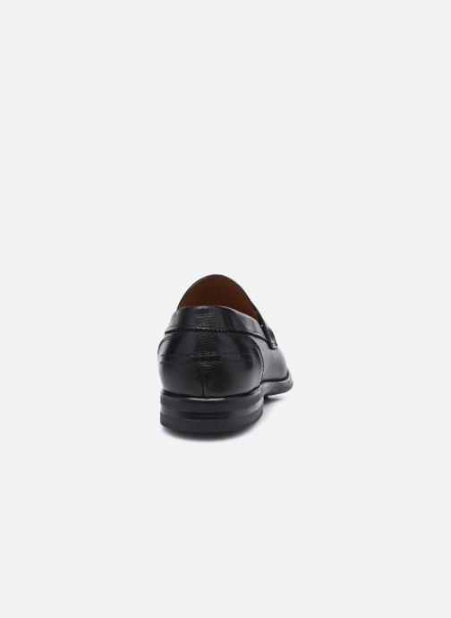 Mocasines Marvin&Co Newera Negro vista lateral derecha