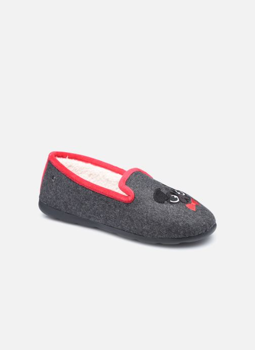 Hausschuhe Damen Slipper Ergonomique EveryWear Broderie Chien