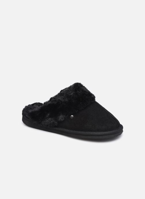 Pantofole Donna Mule Eva Cuir & Fourrue Semelle EVA