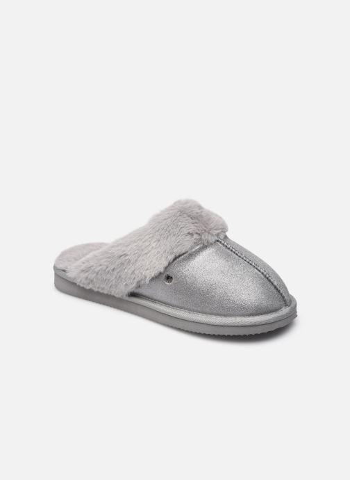 Pantoffels Dames Mule Eva – Cuir Et Fourrure W