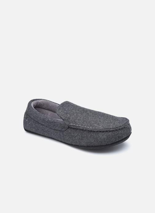 Pantofole Isotoner Mocassin Feutre Grigio vedi dettaglio/paio