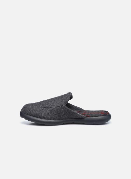 Pantofole Isotoner Mules Ergonomique EveryWear - Feutre Grigio immagine frontale