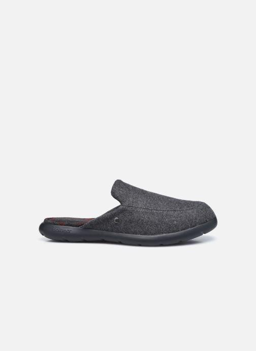 Pantofole Isotoner Mules Ergonomique EveryWear - Feutre Grigio immagine posteriore