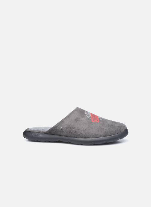 Pantofole Isotoner Mule Ergonomique EverWear - Badges Grigio immagine posteriore