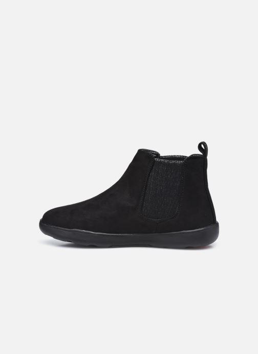 Botines  Isotoner Bottines Elastique Everywear Negro vista de frente