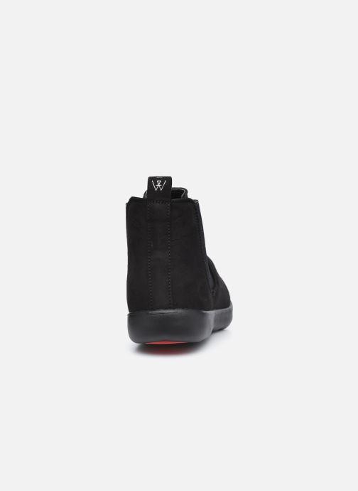 Botines  Isotoner Bottines Elastique Everywear Negro vista lateral derecha