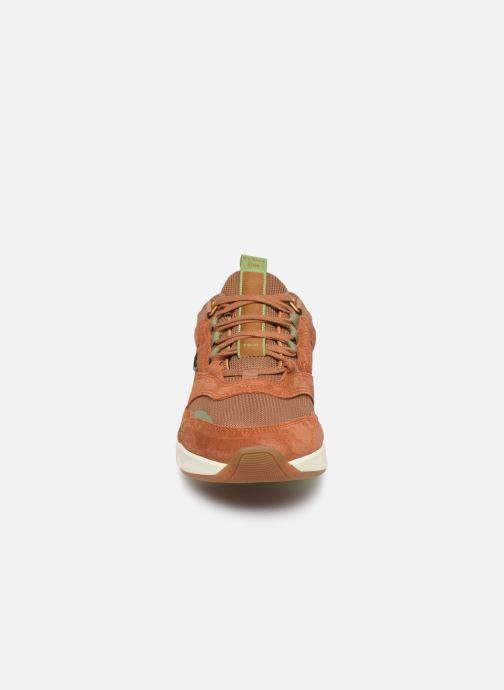 Sneaker Kickers KOOLFLEX braun schuhe getragen