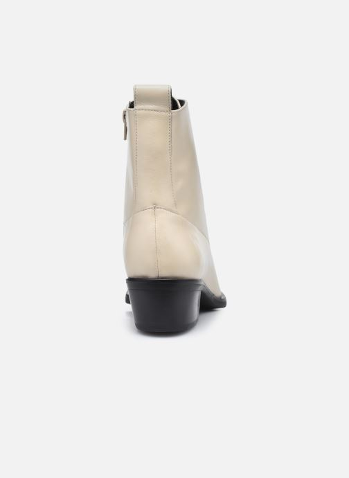 Bottines et boots Nat & Nin EUGENIE Bottines Blanc vue droite