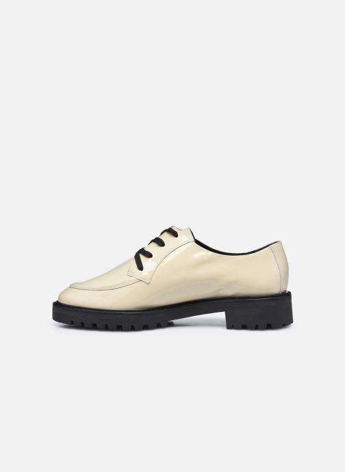 Chaussures à lacets Nat & Nin MARGARET Derbies Blanc vue face