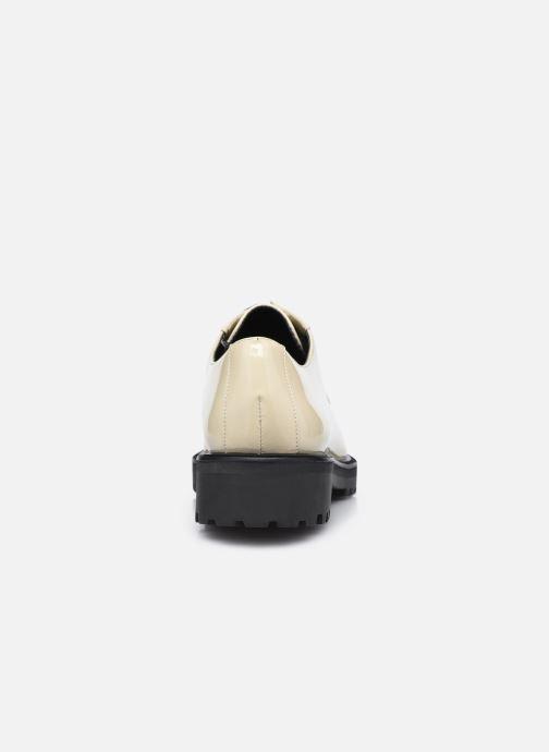Chaussures à lacets Nat & Nin MARGARET Derbies Blanc vue droite