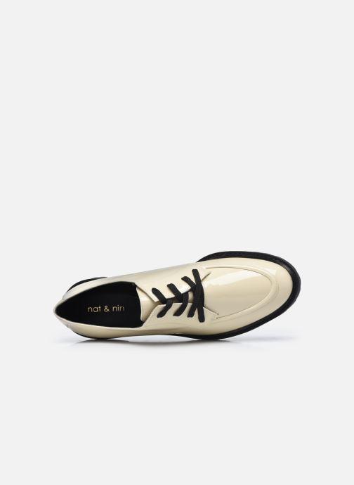 Chaussures à lacets Nat & Nin MARGARET Derbies Blanc vue gauche