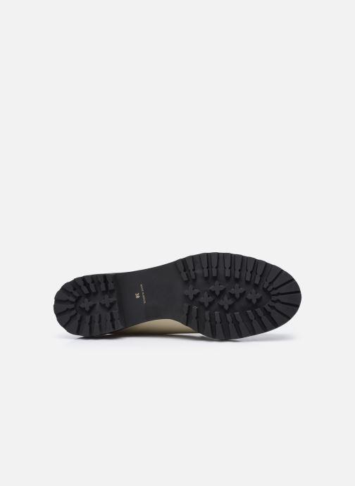 Chaussures à lacets Nat & Nin MARGARET Derbies Blanc vue haut