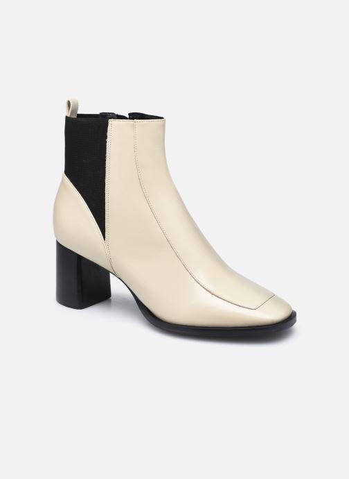 Bottines et boots Nat & Nin SAVANNAH Bottines Blanc vue détail/paire