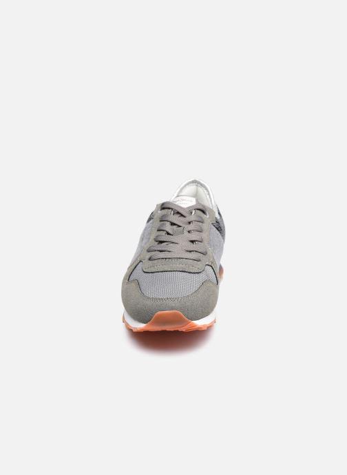Baskets Pepe jeans Verona W Cascade Gris vue portées chaussures