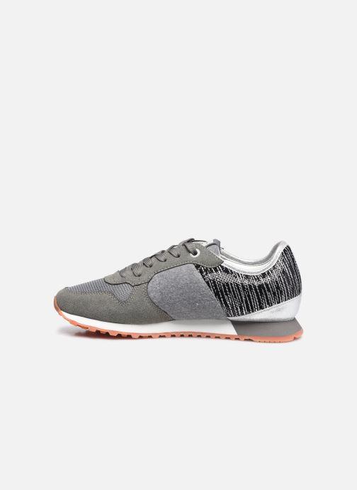 Sneakers Pepe jeans Verona W Cascade Grijs voorkant