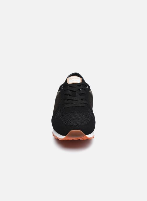 Sneaker Pepe jeans Verona W Cascade schwarz schuhe getragen