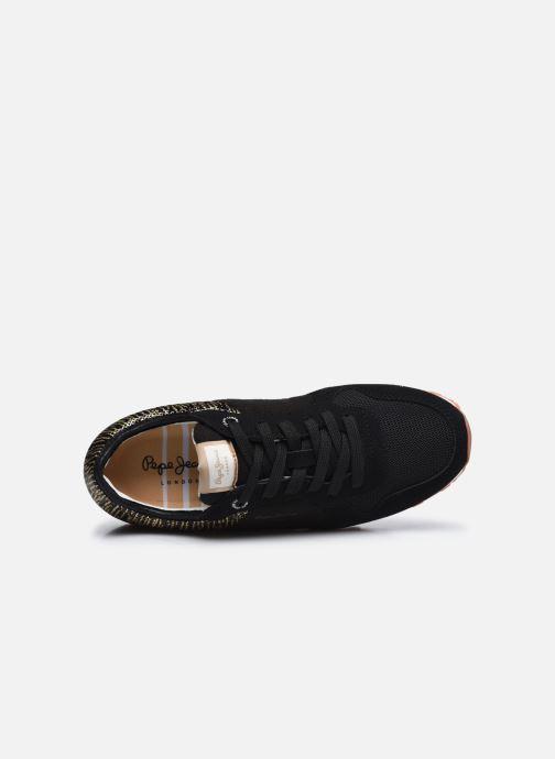 Sneaker Pepe jeans Verona W Cascade schwarz ansicht von links
