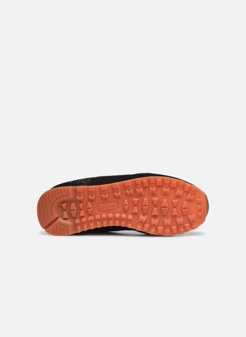 Sneaker Pepe jeans Verona W Cascade schwarz ansicht von oben