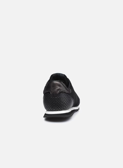 Sneaker Pepe jeans Verona W Top schwarz ansicht von rechts