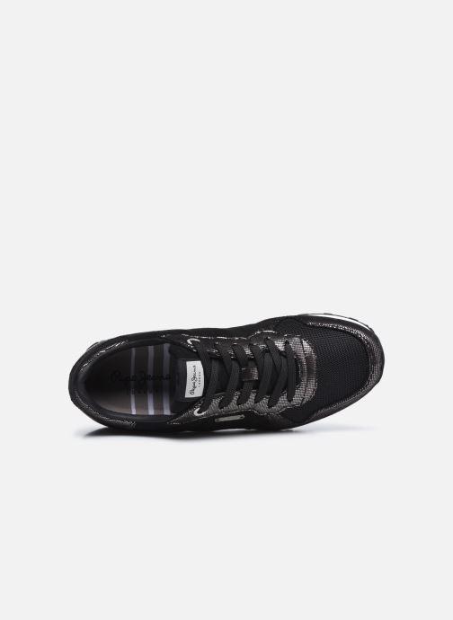Baskets Pepe jeans Verona W Top Noir vue gauche