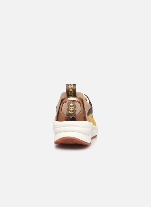 Sneakers Pepe jeans Harlow Sequins Goud en brons rechts