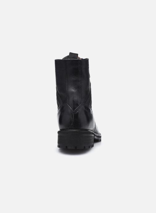 Stiefeletten & Boots Pepe jeans Melting Tape Woman Nb schwarz ansicht von rechts