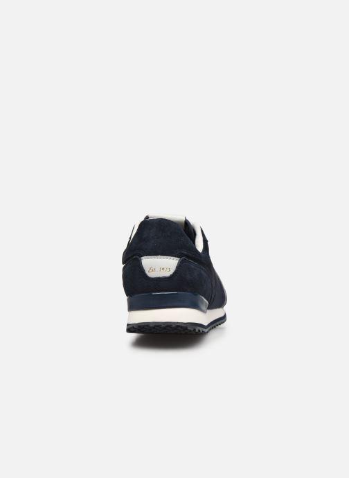 Sneaker Pepe jeans Tinker City blau ansicht von rechts