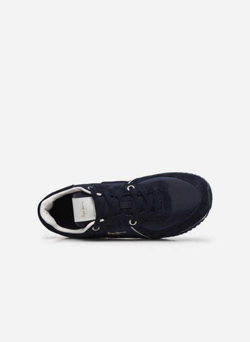 Sneaker Pepe jeans Tinker City blau ansicht von links