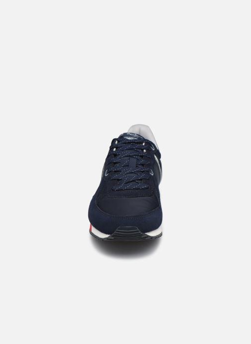 Baskets Pepe jeans Tinker Zero Second Bleu vue portées chaussures
