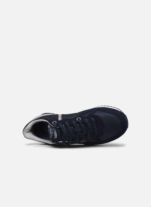 Baskets Pepe jeans Tinker Zero Second Bleu vue gauche