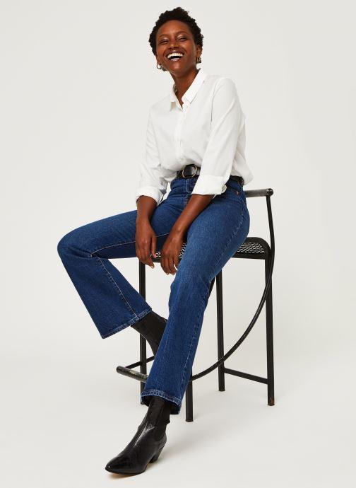 Vêtements Levi's Ribcage Boot Bleu vue bas / vue portée sac