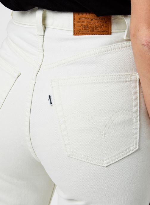 Vêtements Levi's High Loose Blanc vue face