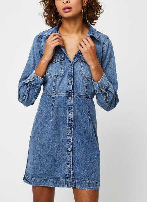 Vêtements Levi's Ellie Denim Dress Bleu vue détail/paire