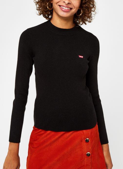 Kleding Levi's Crew Rib Sweater Zwart rechts