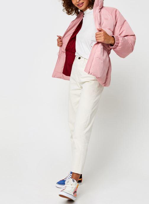 Vêtements Levi's Rosa Fashion Down Rose vue bas / vue portée sac