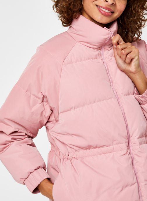 Vêtements Levi's Rosa Fashion Down Rose vue face
