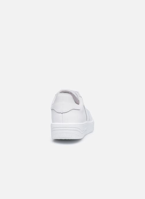 Sneaker Victoria Siempre Piel W weiß ansicht von rechts