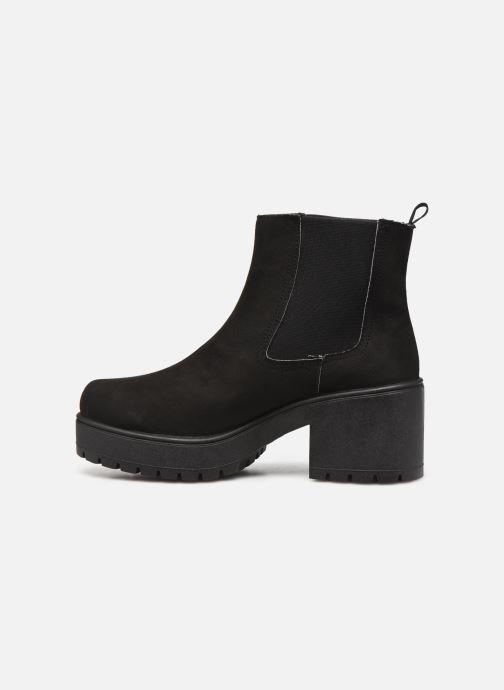 Stiefeletten & Boots Victoria Atalaia Chelsea Antelin schwarz ansicht von vorne