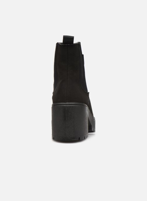 Stiefeletten & Boots Victoria Atalaia Chelsea Antelin schwarz ansicht von rechts