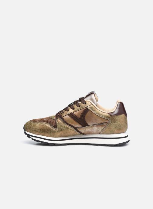 Sneaker Victoria Cometa Multimaterial Cr braun ansicht von vorne