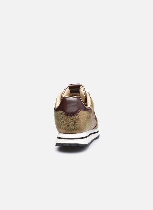 Sneaker Victoria Cometa Multimaterial Cr braun ansicht von rechts