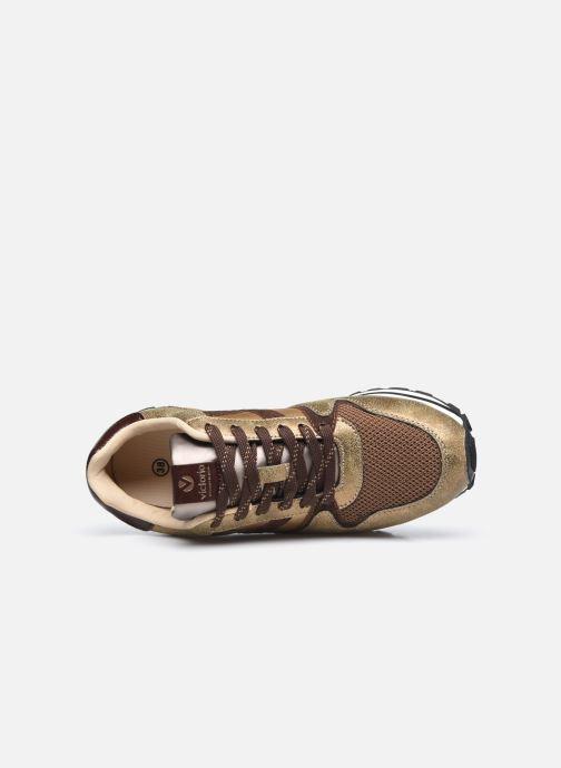 Sneaker Victoria Cometa Multimaterial Cr braun ansicht von links