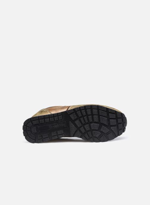 Sneaker Victoria Cometa Multimaterial Cr braun ansicht von oben