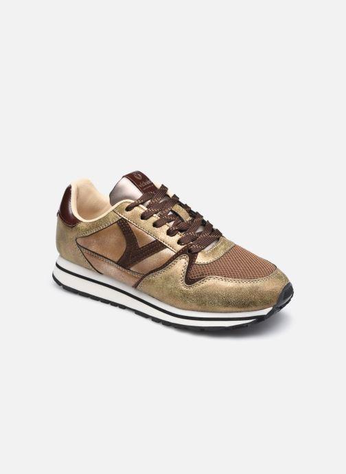 Sneaker Victoria Cometa Multimaterial Cr braun detaillierte ansicht/modell