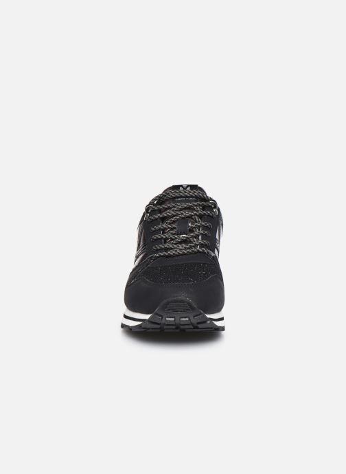 Sneaker Victoria Cometa Multimaterial Br schwarz schuhe getragen