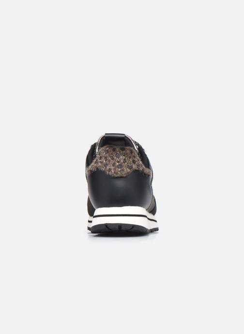 Sneaker Victoria Cometa Multimaterial Br schwarz ansicht von rechts